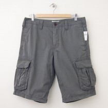 NEW Gap Basic Cargo Shorts in Shadow