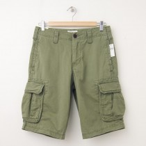 NEW Gap Basic Cargo Shorts in Garland Green