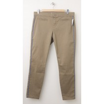 NEW Gap Piped Super Skinny Skimmer Pants in Oak Tree