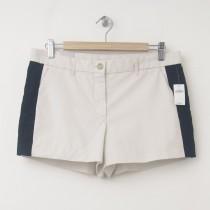NEW Gap Sunkissed Side Stripe Short Shorts in Sloe Gin