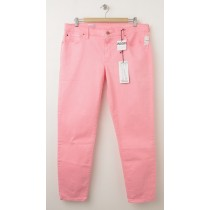 NEW Gap 1969 Legging Skimmer Jeans in Neon Flamingo