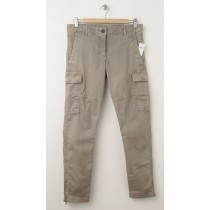 NEW Gap Skinny Mini Cargo Khaki Pants in Trigger Brown