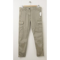 Gap Skinny Mini Cargo Khaki Pants in Olive Branch