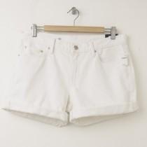 NEW Gap 1969 Sexy Boyfriend Denim Shorts in White