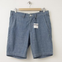 "NEW Gap Classic Straight Fit Chambray Shorts (10"") in Denim"
