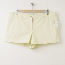 NEW Gap Sunkissed Piped Khaki Short Shorts in New Honeysuckle