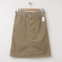 NEW Gap 1969 A-Line Denim Skirt in Mission Tan