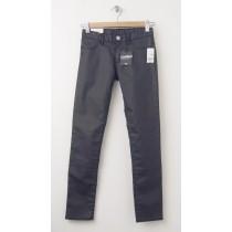 NEW GapKids Girl's 1969 Super Skinny Coated Jeans in True Black