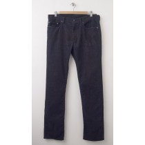 NEW Gap 1969 Cord Slim Fit Corduroy Pants in Washed Black