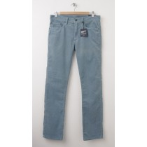 NEW Gap 1969 Cord Slim Fit Corduroy Pants in Blue Slate