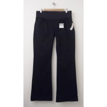 NEW Gap 1969 Demi Panel Always Sexy Boot Maternity Jeans in Black
