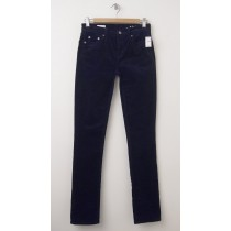 NEW Gap 1969 Mid-Rise Real Straight Cords Corduroy Pants in Navy Uniform