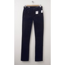 NEW Gap 1969 Mid-Rise Real Straight Cords Corduroy Pants in True Black