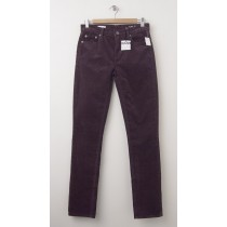 NEW Gap 1969 Mid-Rise Real Straight Cords Corduroy Pants in Rich Eggplant