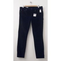 NEW Gap 1969 Velvet Always Skinny Pants in True Black