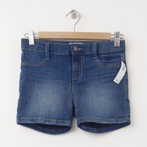 Old Navy Girl's Denim Shorts in Medium Wash