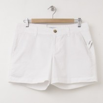 "NEW Old Navy 5"" Twill Shorts in Bright White"