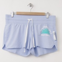 NEW Old Navy Fleece Summer Logo Shorts in Merry Peri