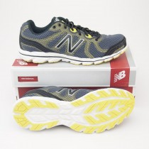 New Balance Men's 590v2 Running Shoe M590GY2 in Grey with Yellow