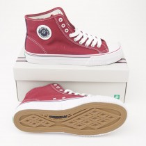 PF Flyers Center Hi Canvas Hi-Top Sneakers MC1001RD in Red