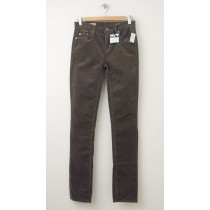 NEW Gap 1969 Mid-Rise Real Straight Cords Corduroy Pants in Tate Olive