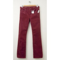 NEW Gap 1969 Perfect Boot Cords Corduroy Pants in Raisin