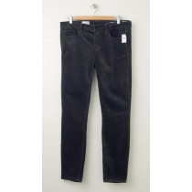 NEW Gap 1969 Velvet Always Skinny Pants in Soft Black