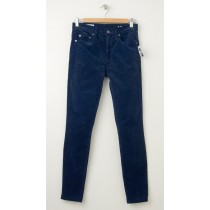 NEW Gap 1969 Always Skinny High-Rise Cords Corduroy Pants in Frozen Navy