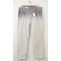 NEW Gap 1969 Dip Dye Sexy Boyfriend Cords Corduroy Pants in Grey