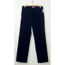 NEW Gap Trouser Cord Corduroy Pants in True Black