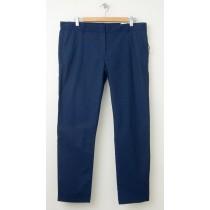 NEW Gap Thin-Stripe Skinny Crop Pants in Deep True Navy