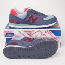 New Balance Men's Winter Harbor 574 Classics Running Shoes ML574WNB in Grey