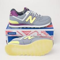 New Balance Women's Street Beat 574 Classics Running Shoes in Grey WL574SBF