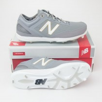 New Balance Low Cut Minimus Metal Baseball Cleats MBBGR in Grey