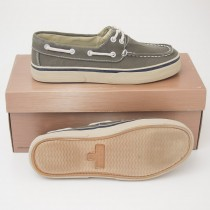 Thom McAn Burnham Twill Dock Boat Shoes in Brown