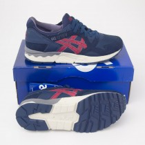 Asics Men's Gel-Lyte V Running Shoes HD50Y-5025 in Navy/Burgundy
