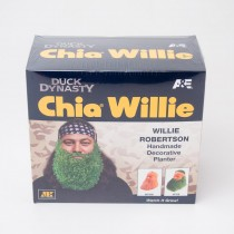 Chia Pet Duck Dynasty Willie Decorative Planter