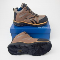 Reebok Men's Arion Hiker Height Waterproof Work Boot RB4512 in Tan