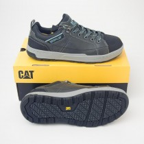 CAT by Caterpillar Brode Steel Toe Oxford Work Sneaker P90266 in Dark Grey