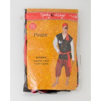 Spooky Village Halloween Pirate Costume Adult
