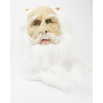 Spooky Village Super Hair Classic Mask for Adults in White