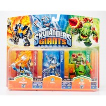Activision Skylanders Giants Triple Pack #2 (Ignitor, Chill, Zook)