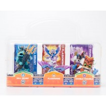 Activision Skylanders Giants Gill Grunt, Flashwing, and Double Trouble 3 Pack