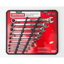 Craftsman 9 Piece Combination Wrench Set Inch 9-47238