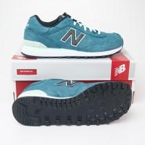 New Balance Women's Precious Metal 515 Classics Running Shoes ML515MBW in Tropical Green
