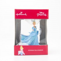 Hallmark Disney Princess Cinderella Christmas Tree Ornament 2016