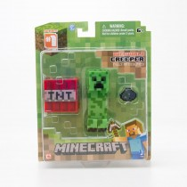 Jazwares Minecraft Series 1 Overworld Creeper Action Figure