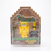 Jazwares Terraria Gold Armor Player Figure
