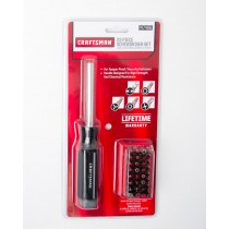 Craftsman 33 Piece Screwdriver Set 9-47486