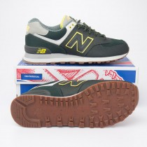 New Balance Men's 574 Weekend Expedition Running Shoes ML574EXB in Olive Camo